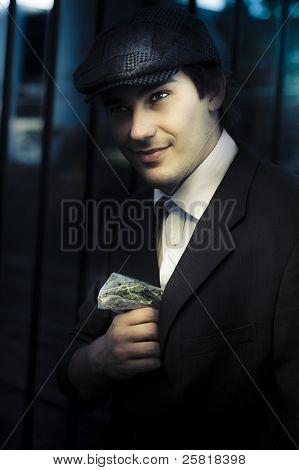 Drug Dealer With Marijuana