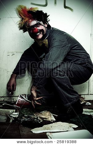 Mr Squatter The Unemployed Clown