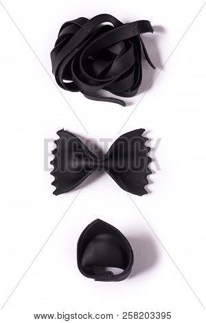 Black Pasta Composition