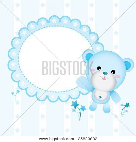 Cute Bear for Baby Boy
