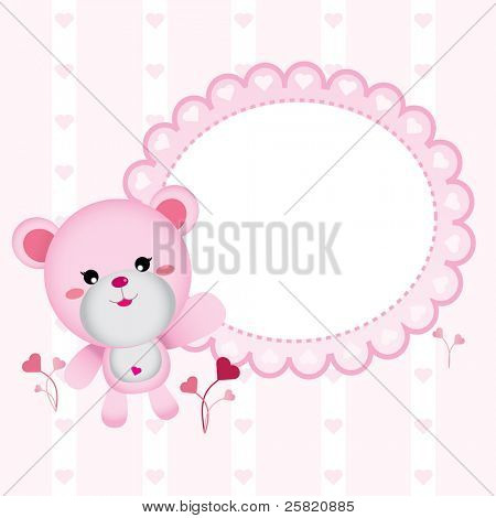 Cute Bear for Baby Girl