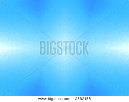 Abstract White Light Blue Background