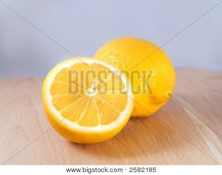 Two Lemons In A Kitchen
