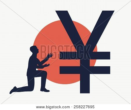 Silhouette Man Prayer Vector Photo Free Trial Bigstock