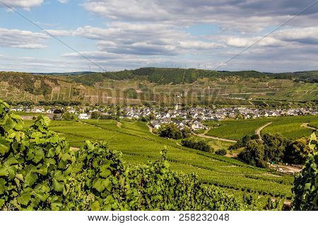 Leiwen On The Moselle Germany Picture Panorama