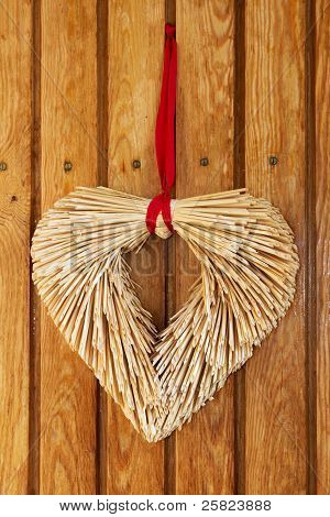 Heart Made Of Straw