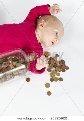 Nursling With Money