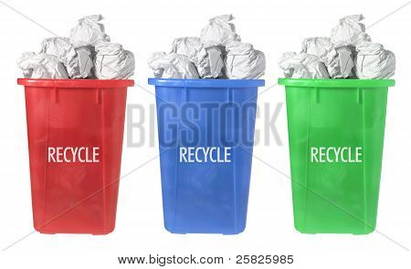 Recycle Paper Bins