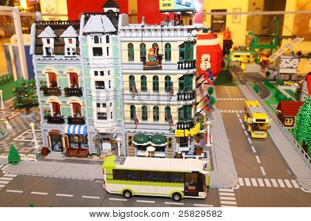 Lego City On Display