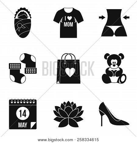 Marital Partner Icons Set. Simple Set Of 9 Marital Partner Icons For Web Isolated On White Backgroun