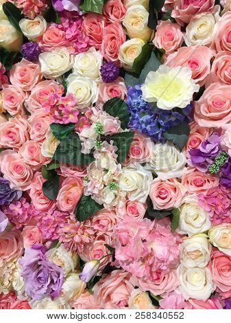 bouquet mix flower for sale in flower shop
