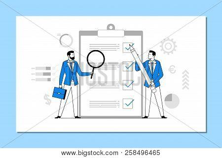 Multi-tasking. Business Concept Illustration.planning And Organization Of Tasks On Board.