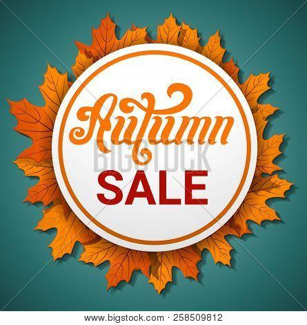 Autumn Final Sale Concept Banner. Cartoon Illustration Of Autumn Final Sale Vector Concept Banner Fo