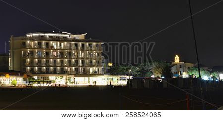 Evening View Of Hotel Complex, Eastern Beach, Caorle, Italy