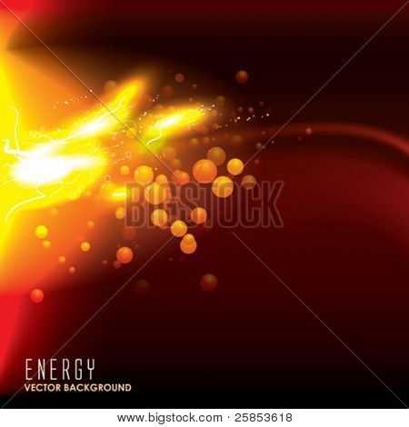 Vector Energy. Abstract Background.