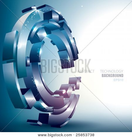 Vector Abstract Technology Background
