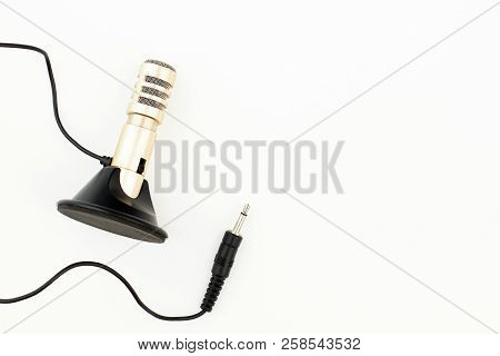 Portable Stereo Microphone With Jack. Portable Stereo Condenser With Mic Stand Microphone And Copy S
