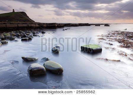 Evening In Kimmeridge Bay