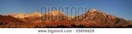 Mountain Morning Panorama