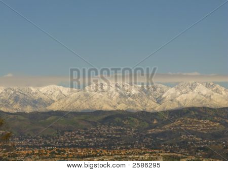 San Bernardino Mountains In Winter