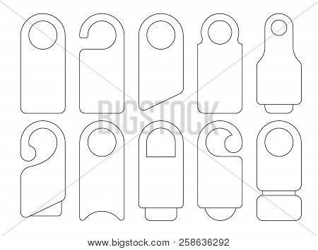 door hanger signs vector photo free trial bigstock