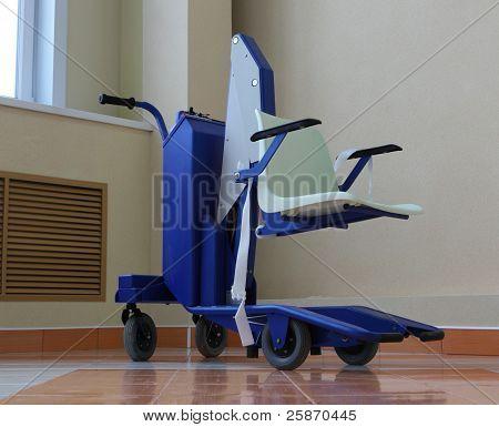 Battery powered wheelchair
