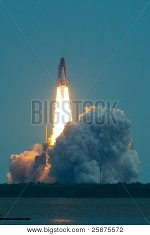 Launch Of Endeavour Sts-134