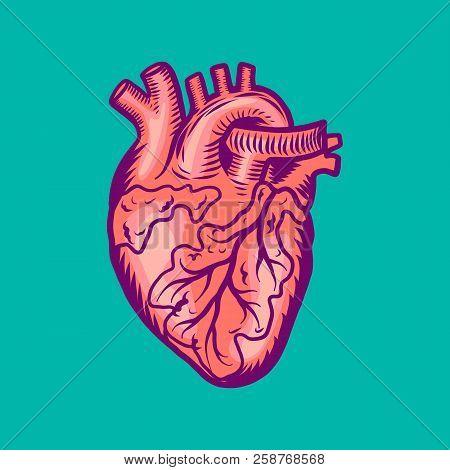 Tattoo Human Heart Vector & Photo (Free Trial) | Bigstock