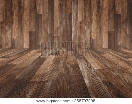 Wood Texture Background, Wood Panels Wall And Floor For Backgrounds