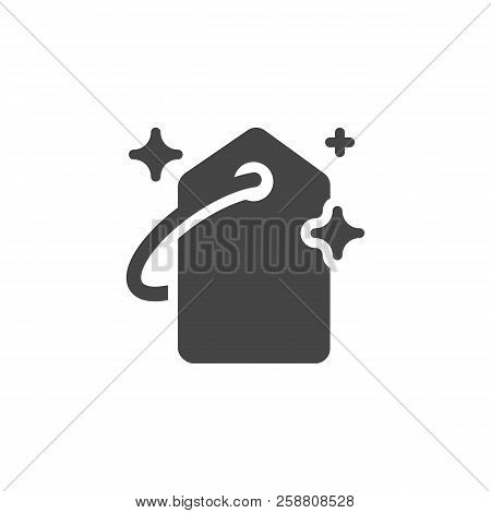 Price-tag Black Flat Icon. Badge For Online And Offline Stores, Sites And Mobile Apps. Graphic Outli