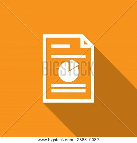 Spreadsheet Document Paper Outline Icon. Thin Line Style For Graphic And Web Design. Simple Flat Sym