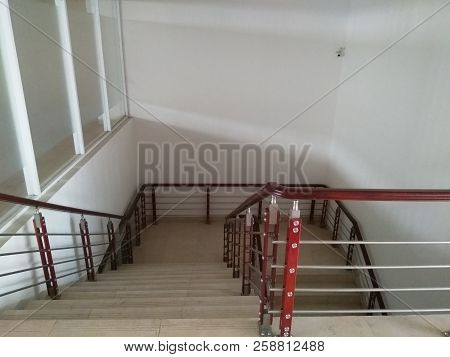 High-rise Building Stairs With High Aesthetic Value