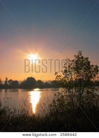 Sunrise At River