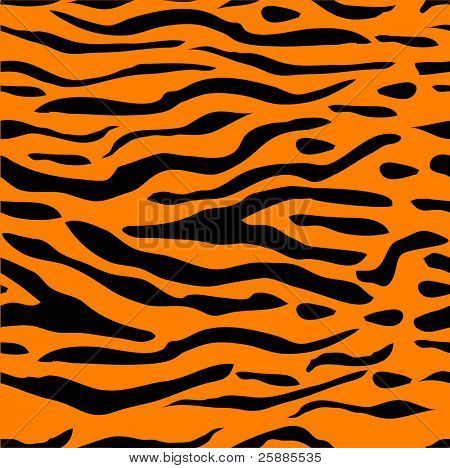 Tiger stripe seamless background which can be tiled