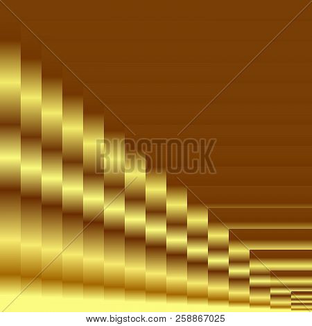 Abstract Gradient Gold Texture Background. Vector Illustration, Eps10. Use As Background, Backdrop,