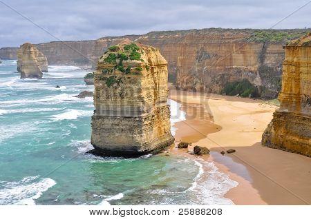 Twelve Apostles along Great Ocean Road, Victoria