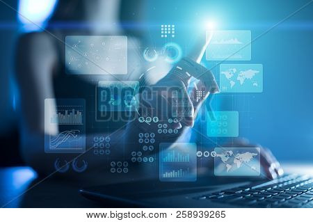 Virtual Touch Screen. Project Management. Data Analysis. Hitech Technology Solutions For Business. I