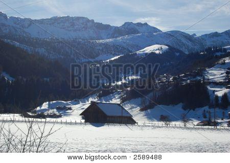 Winter Lenk Scene