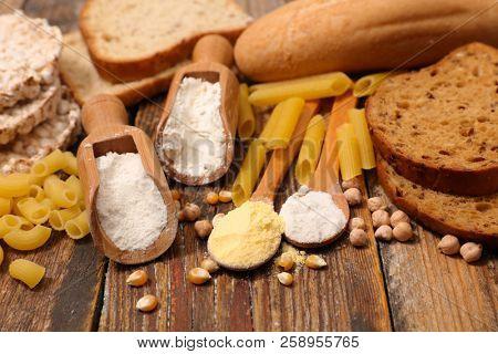assorted gluten free food ingredient