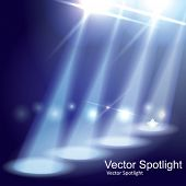 Vector Stage Spotlight poster