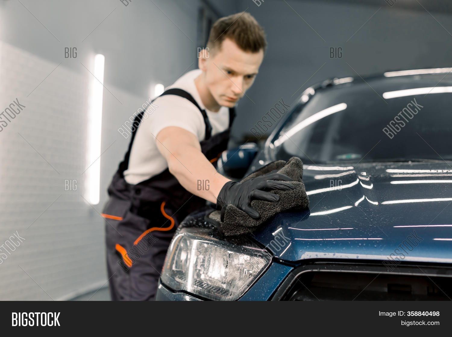Car Detailing Cleaning Image Photo Free Trial Bigstock