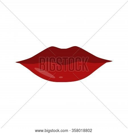 Red Sexy Female Lips Isolated On A Transparent Background, Air Kiss, Beautiful Lips, Beauty, Red Lip