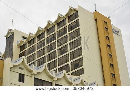 Kota Kinabalu, My - June 21: Hyatt Regency Kinabalu Facade On June 21, 2016 In Malaysia. Hyatt Regen