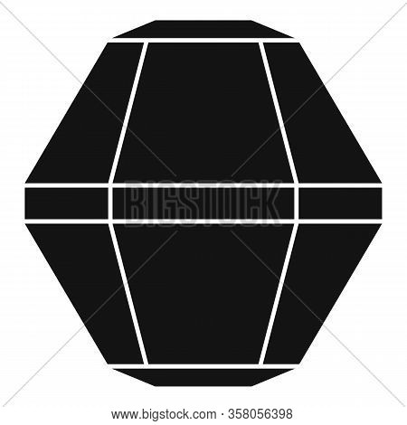Fashion Jewel Icon. Simple Illustration Of Fashion Jewel Vector Icon For Web Design Isolated On Whit