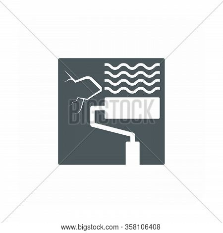 Waterproof And Equipment Vector Icon Design On White Background.