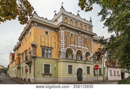 Building Of Forestry Office On Deak Square, Miskolc, Hungary