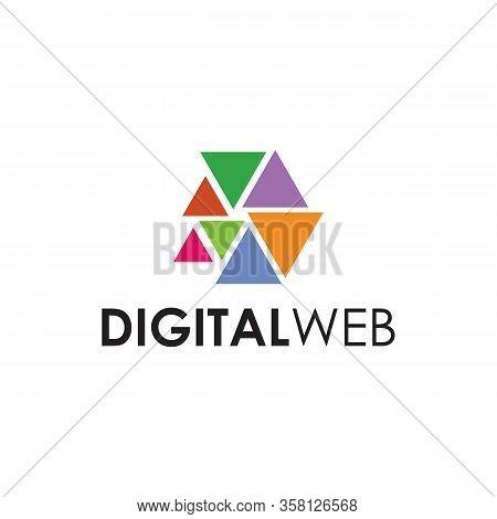 Digital Web Logo Abstract And Templates, Abstract