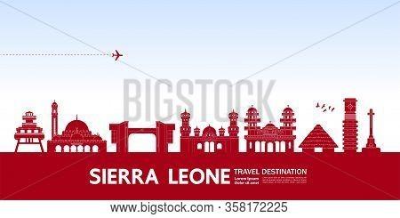 Uganda Pink Travel Destination Vector Illustration.