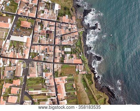 Coastline Of The Island Of Sao Miguel - Azores