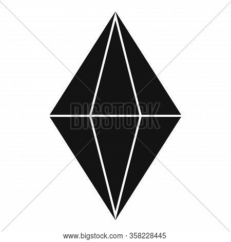 Radian Gemstone Icon. Simple Illustration Of Radian Gemstone Vector Icon For Web Design Isolated On